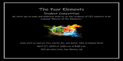 4 Elements Competition